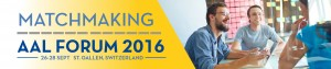 Matchmaking AAL forum 2016_banner